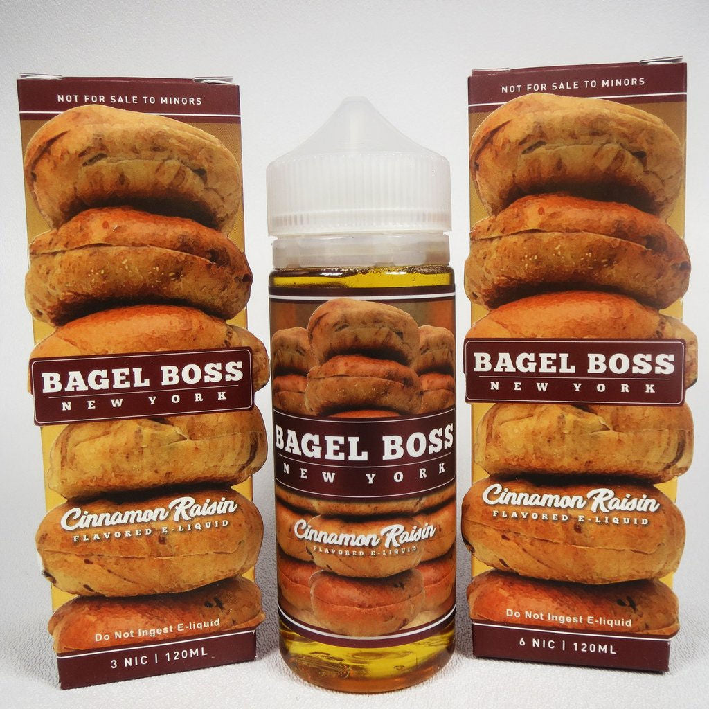 Cinnamon Raisin | <br> by Bagel Boss ejuice