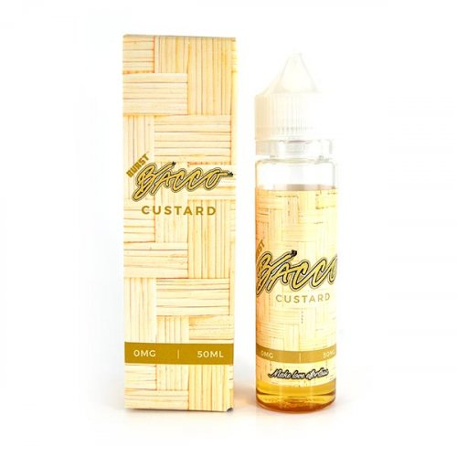 Custard | <br> Burst Bacco - Wholesale Vape Supply | E-Liquids | Mods | Electronic Cigarettes Drip Cave®