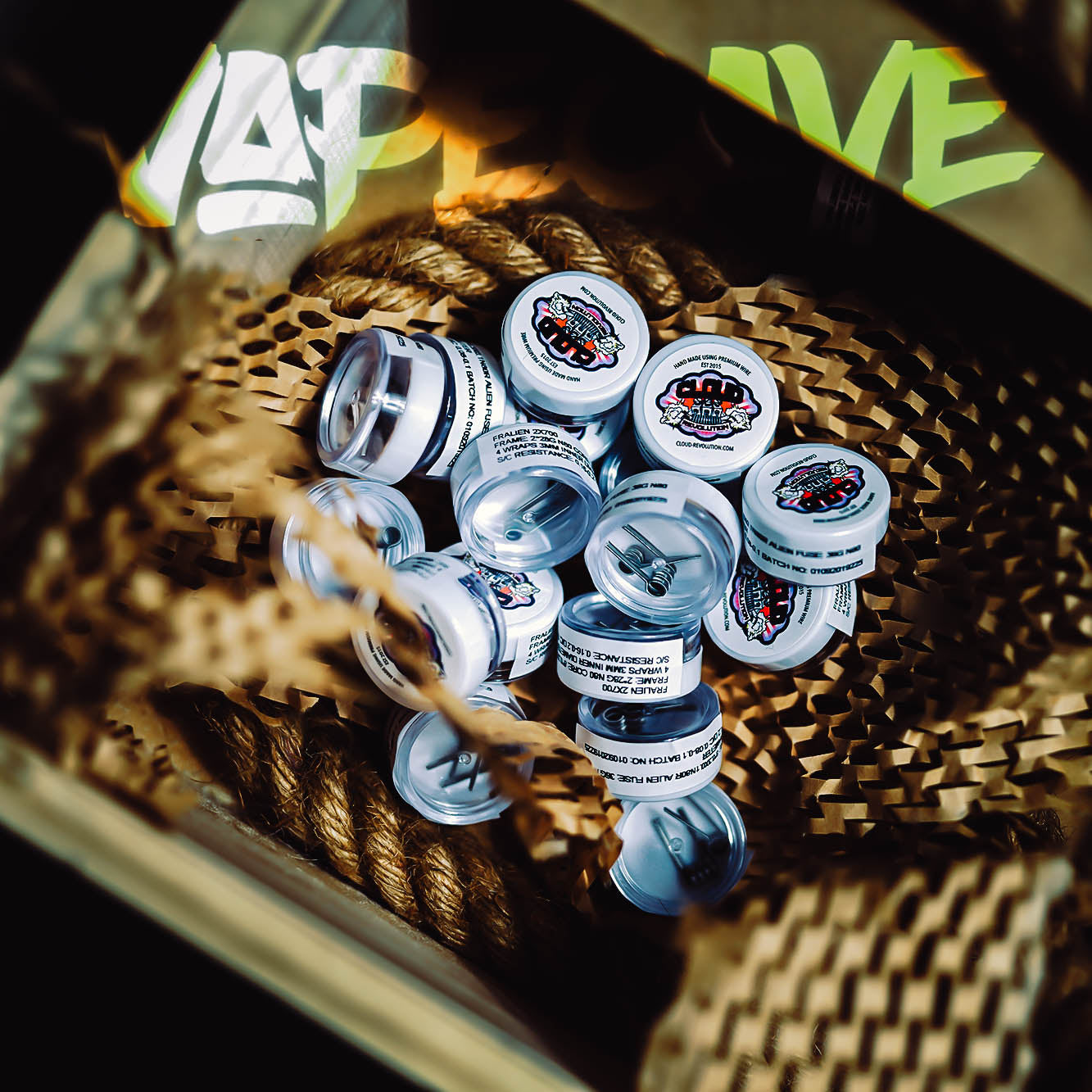 Coils + Cotton | <br> Packs - Wholesale Vape Supply | E-Liquids | Mods | Electronic Cigarettes Drip Cave®