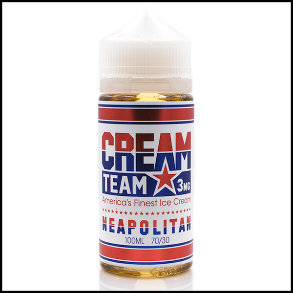 Neapolitan | by<br> Creme Team by Jam Monster | e-liquid | VapeCave | Australia