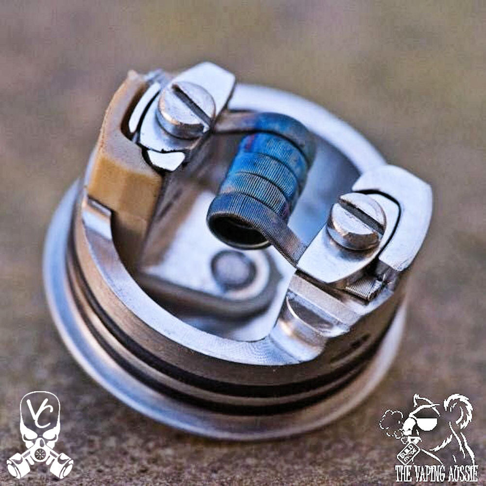 Framed staple coils | <br> The Vaping Aussie