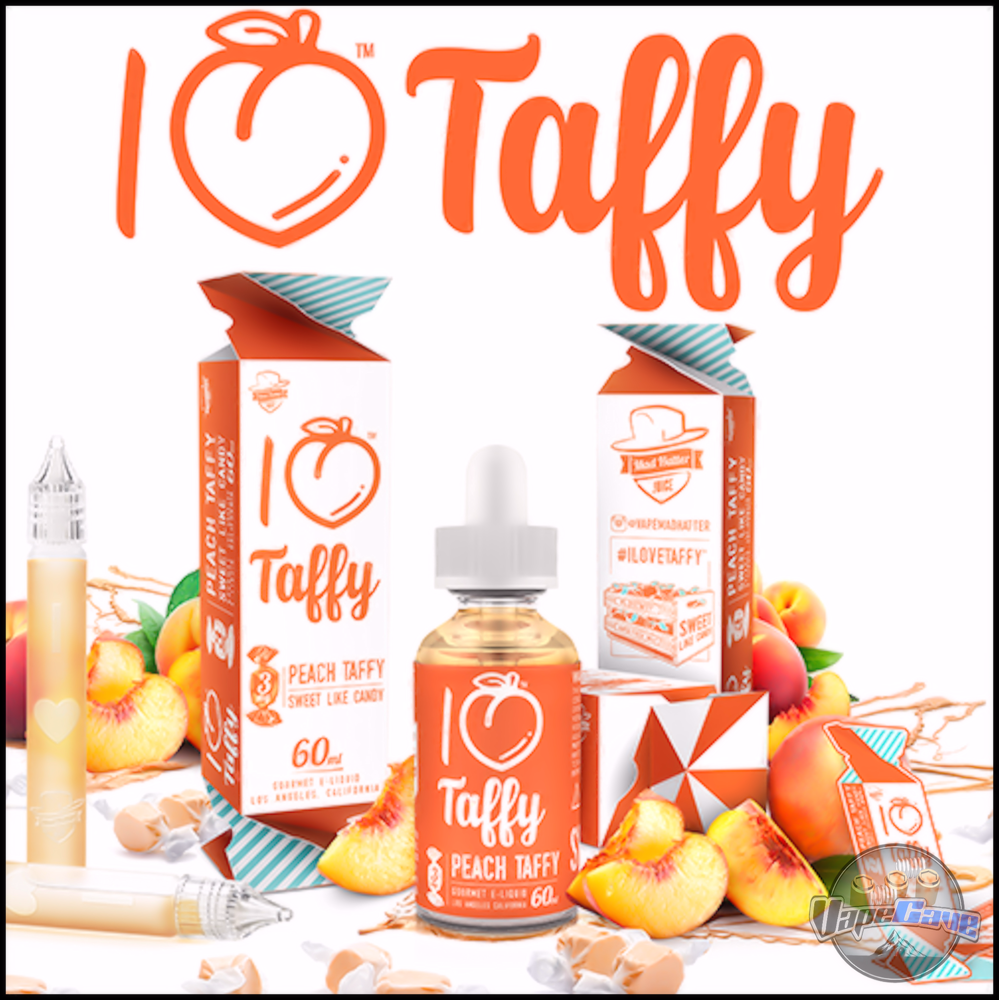 I Love Taffy - 60ml |  <br>Mad Hatter Juice