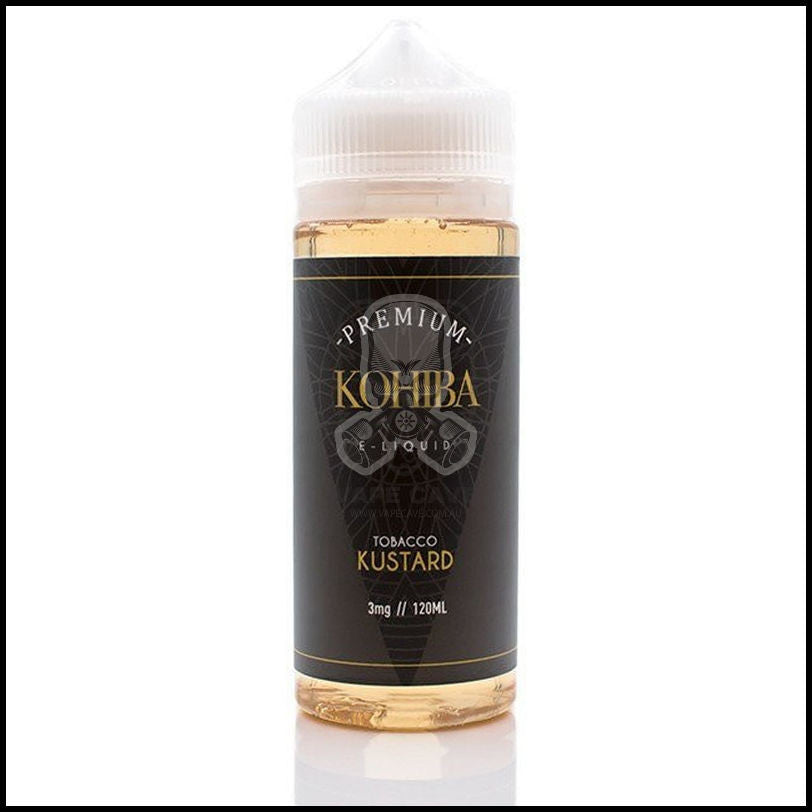 Kustard Tobacco Eliquid <br>| by KOHIBA