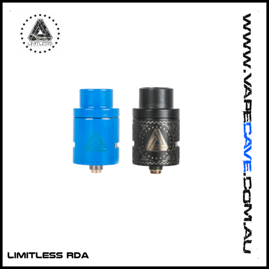 Buy Limitless RDA<br>by Limitless Mod Co - Limitless Mod Co - Vape Shop Melbourne Australia's Premier Shopping Destination Vape Cave