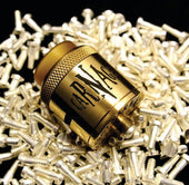 Carnage RDA Silver Plated | <br> 510 Pin by Purge Mods