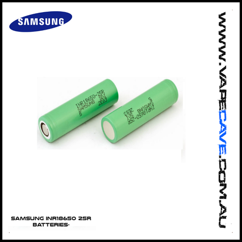 Samsung INR18650-25R 2500mAh Rechargeable Authentic