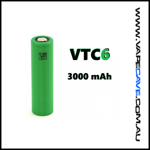 VTC6 3000mAh 30A | <br> by Sony