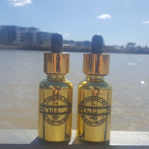 Strawberry cheesecake |<br> by Contraband Vape Co.