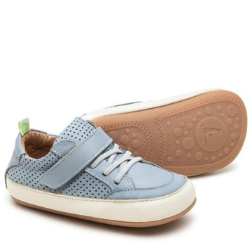 Tip Toey Joey Boy's and Girl's Urbany Sneakers, Tide Blue/Tide Blue Perforated