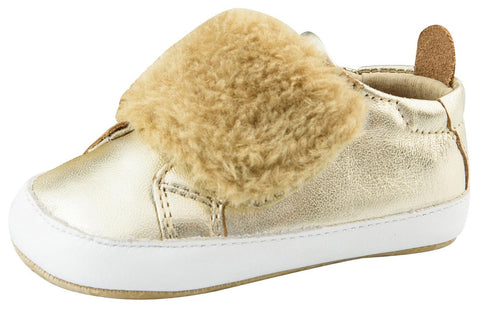 Old Soles Girl's and Boy's Bambini Pet Shoes, Gold