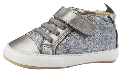 Old Soles Girl's and Boy's Cheer Glam, Gunmetal