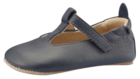 Old Soles Girl's Omhe-Bub, Navy