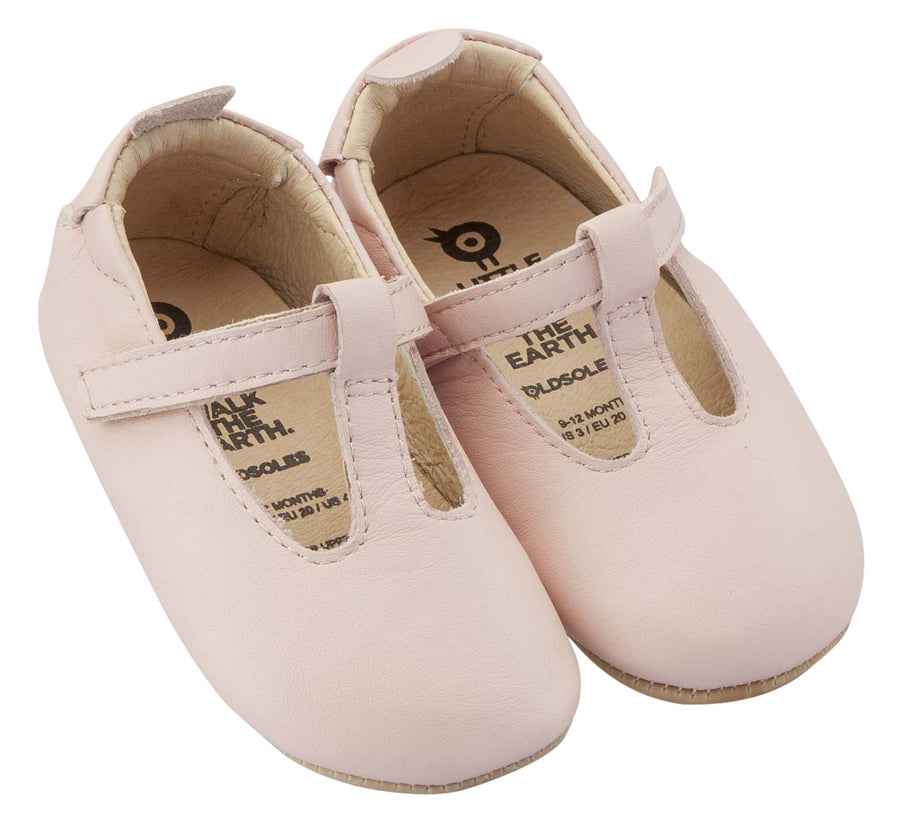 Old Soles Girl's Ohme-Bub, Powder Pink