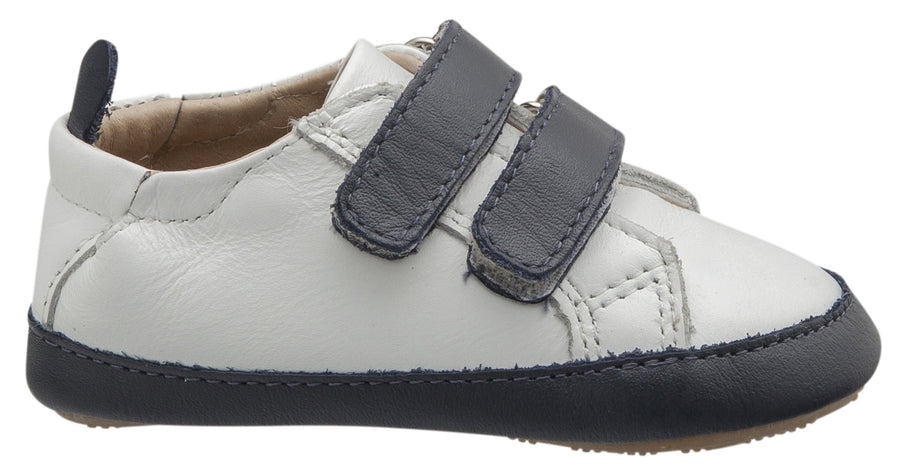 Old Soles Boy's & Girl's Eazy Markert Sneakers, Snow / Navy