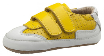 Old Soles Girl's and Boy's 0025R Chaser Sneakers, Sunflower/Snow