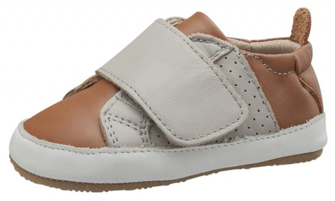 Old Soles Boy's and Girl's Sport Lil Peezy, Tan / Gris