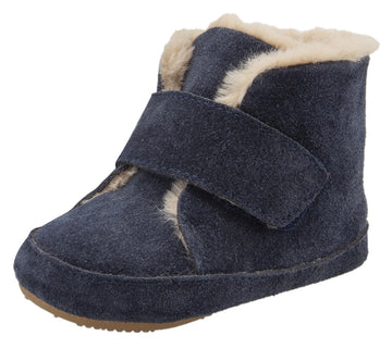 Old Soles Softly Booties  - Navy Suede