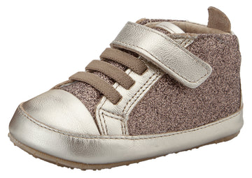 Old Soles Girl's & Boy's Glam Gal Sneakers - Glam Choc/Titanium