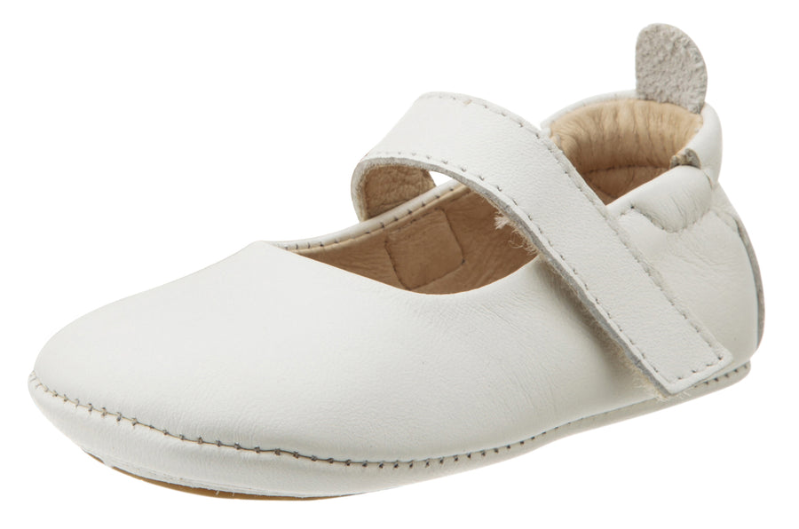 Old Soles Girl's Gabrielle First Walker Mary Jane, Snow White