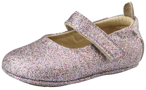 Old Soles Girl's Gabrielle Violet Glam Mary Jane Flats