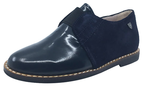 Venettini Hailey Navy Blue Step-In Shoe