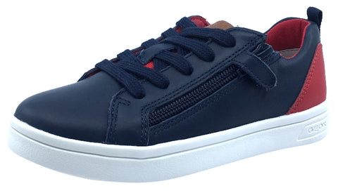 Geox DJ Rock Sneaker Navy Red Junior for Boy's