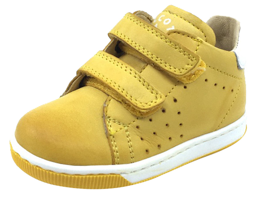 Naturino Falcotto Boy's and Girl's Adam Fashion Sneakers, Giallo