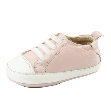 Old Soles Eazy Tread First Walker Sneakers, Powder Pink