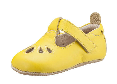 Old Soles Girl's Gabrielle First Walker Mary Jane, Sunflower