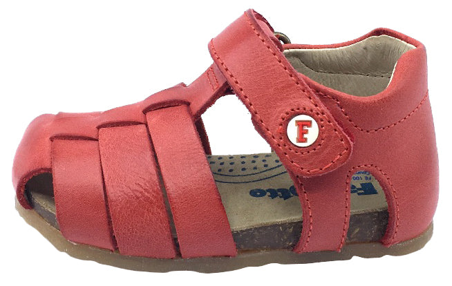 Naturino Falcotto Boy's and Girl's Alby Fisherman Sandals, Rosso