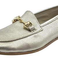 Luccini Girl's Slip-On Smoking Loafer