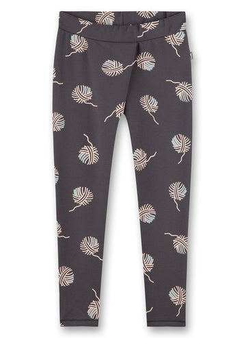 Sanetta Grey Print Pants