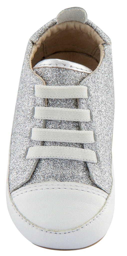 Old Soles Girl's and Boy's Eazy Jogger, Glam Argent/Silver