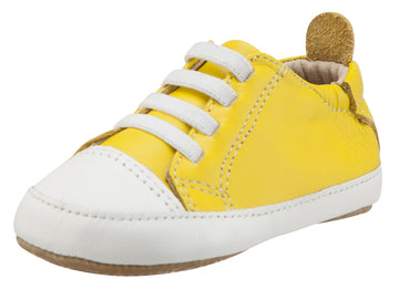 Old Soles Boy's and Girl's Eazy Jogger First Walkers, Sunflower