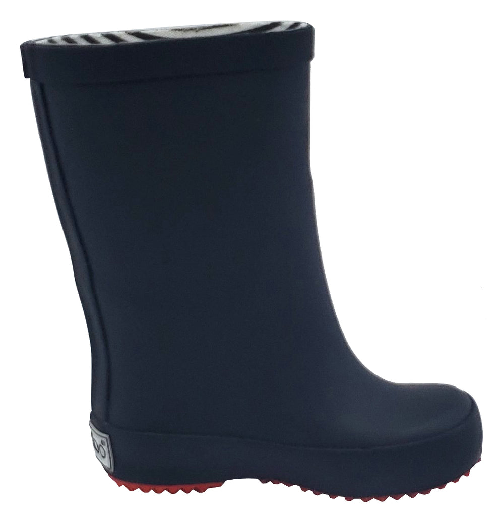 Boxbo Girl's and Boy's Wistiti Black Rain Boot