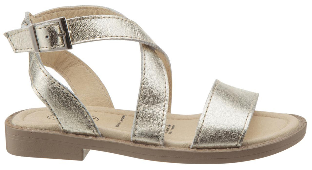 Old Soles Girl's Gold Khaleesi Leather Sandals