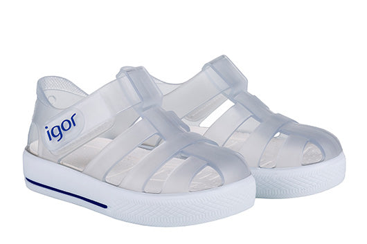 Star Clear Sandal – Just Shoes for Kids
