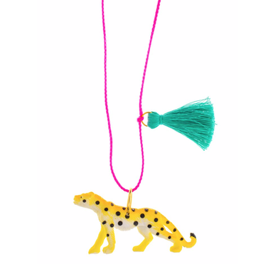 Gunner & Lux Charlie The Cheetah Necklace