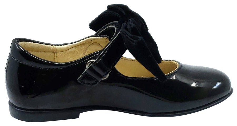 Naturino Girl's Stresa Shoes, Black Patent