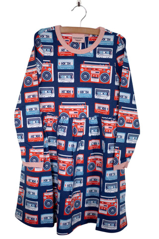 Moromini Cassette Boomblaster Girls Dress