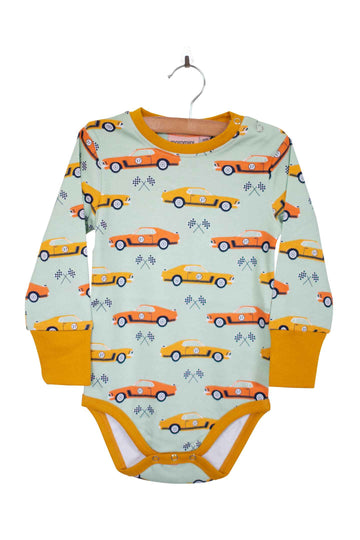 Moromini Baby Race Car Bodysuit