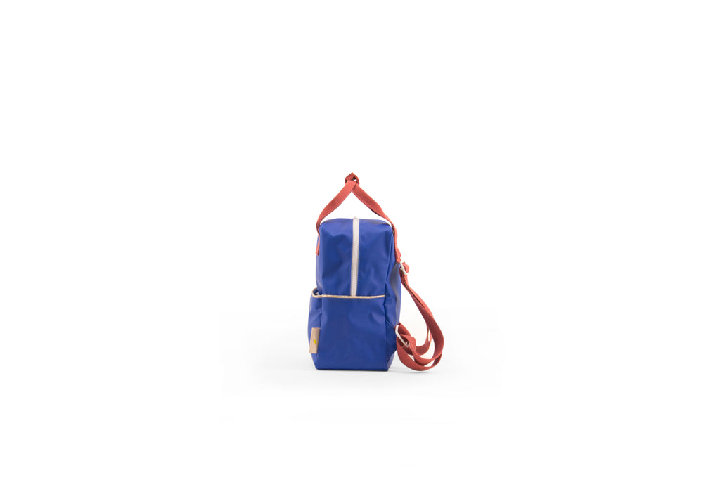 Sticky Lemon Small Backpack, Ink Blue/Gold Trim