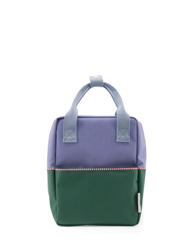 Sticky Lemon Color Block Collection Small Backpack, Moustafa Purple/Movie Green/Henckles Blue