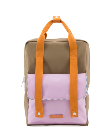Sticky Lemon Deluxe Envelope Large Backpack, Madame Olive/Gustave Lilac/Congier
