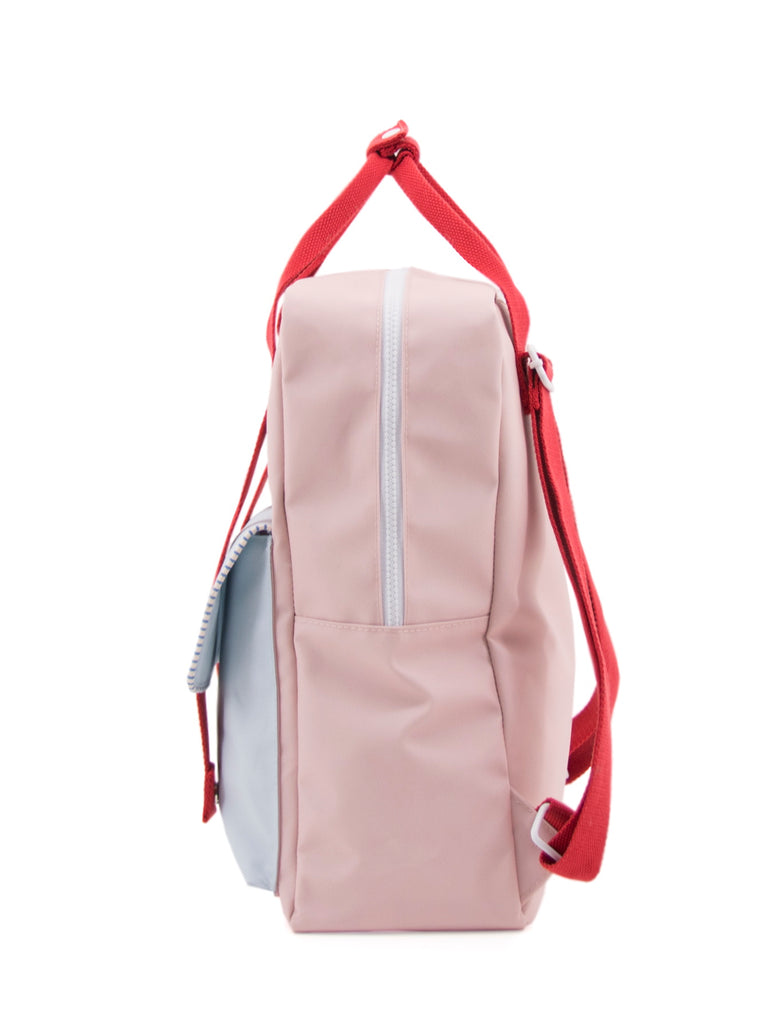 Sticky Lemon Deluxe Envelope Large Backpack, Mendl's Pink/Agatha Blue