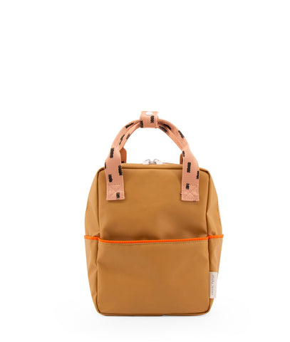 Sticky Lemon Sprinkles Collection Small Backpack, Panache Gold/Lemonade Pink/Royal Orange
