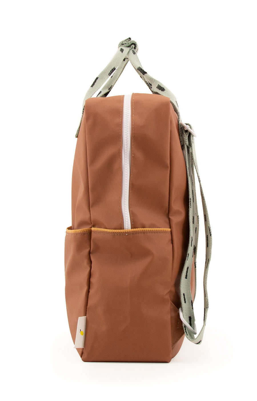 Sticky Lemon Sprinkles Collection Large Backpack, Cinnamon Brown/Sage Green/Cantaloupe