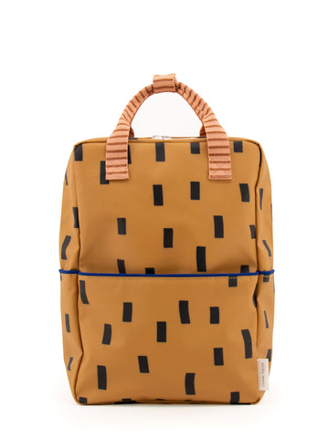 Sticky Lemon Sprinkles Special Edition Collection Large Backpack, Panache Gold/Lemonade Pink/Indigo Blue
