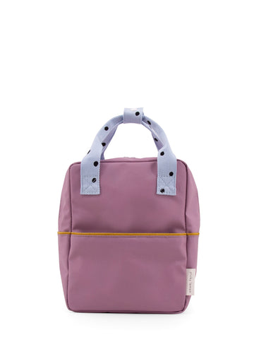 Sticky Lemon Freckles Small Backpack, Pirate Purple/Sky Blue/Caramel Fudge