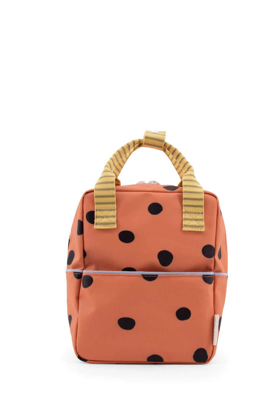 Sticky Lemon Freckles Special Edition Collection Small Backpack, Faded Orange